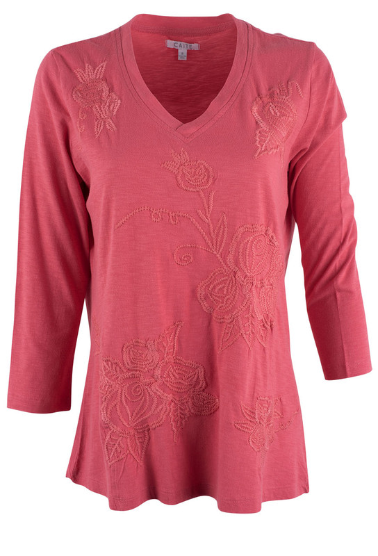 Caite Angie Cotton Top - Front
