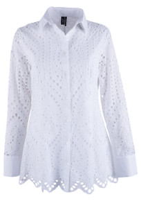 Ravel Islet Long Sleeve Top - Front