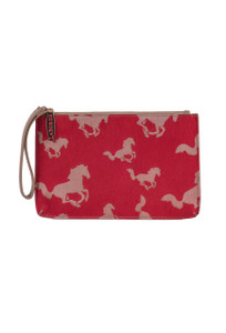 Laborde Giddy Up Wristlet - Red - Front