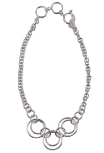 Coreen Cordova Three Charmer Necklace - Front