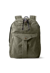 Filson Tan Journeyman Backpack - Front