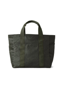 Filson Brown Large Grab 'N' Go Tote Bag - Front