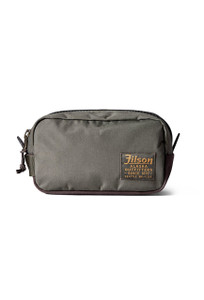Filson Otter Green Ballistic Nylon Travel Pack - Front