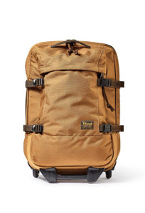 Filson Whiskey Ballistic Nylon Dryden Rolling 2-Wheel Carry-On Bag - Front