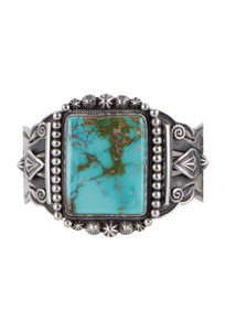 Turquoise Moon Royston Turquoise Cuff - Front