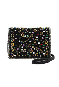 Mary Frances Shattered Mini Crossbody Purse - Front