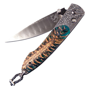 William Henry Lancet Green Pine Pocket Knife -  Front