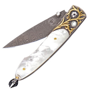 William Henry Lancet Golden Sands Pocket Knife - Front