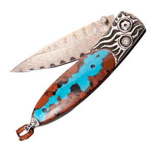 William Henry Monarch Silver Fire Pocket Knife - Front
