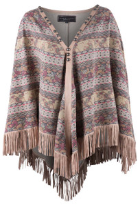 Double D Ranch Spice Trade Poncho - Front