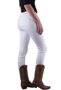 Grace in L.A. White Easy Fit Skinny Jeans