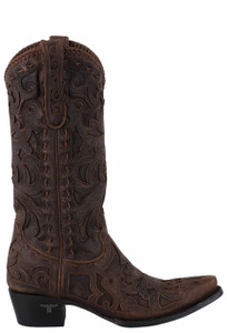 Lane Women's Brown Robin Boots - Side