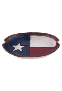 Texas Flag Leather Valet