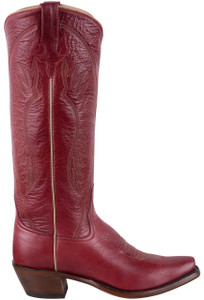 Rios of Mercedes Deep Red Milan Cowgirl Boots - Side