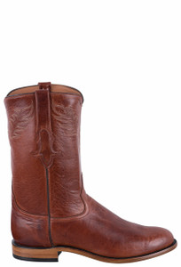 Tony Lama Signature Series Men's Russet Echo Roper Boots - Side