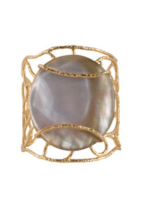 Christina Greene Pearl Tribeca Cuff