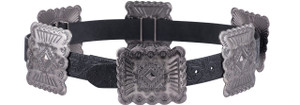 Lucky and Blessed Women's Large Concho Belt