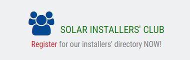 Join our Solar Installers' Club for exclulsive savings and offers!