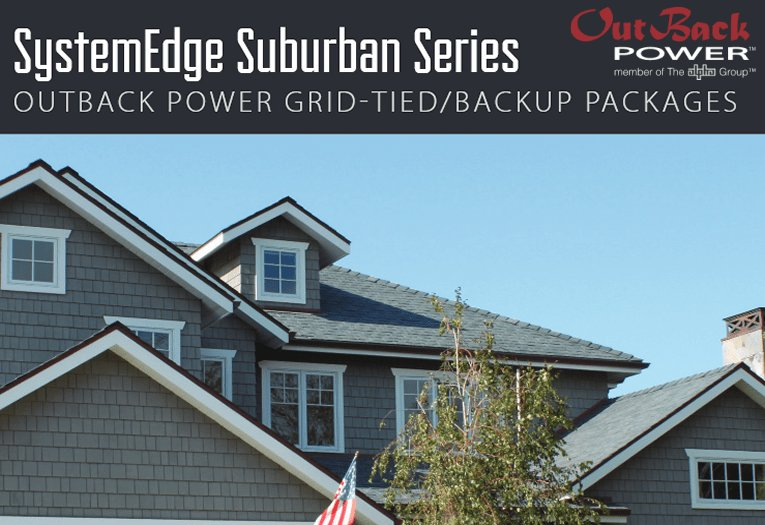 SystemEdge Suburban Series backup power systems