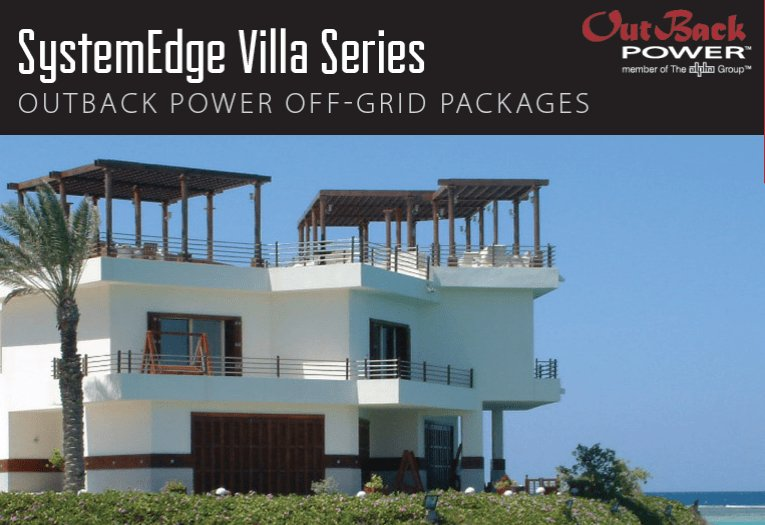 SystemEdge Villa Series backup power systems