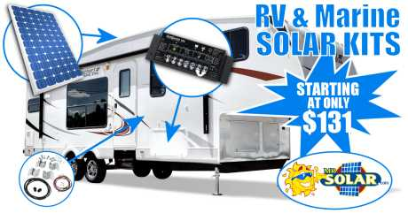 RV Solar Panels & KIts