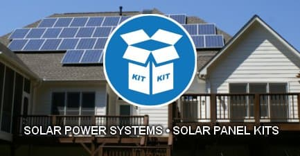 Grid-tie and off-grid solar power systems and kits.