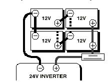 nice 4 battery 24 volt wiring diagram ensign electrical diagram rh itseo info 24 Volt Thermostat Wiring Diagram 12 Volt DC to 24 Volt DC Wiring Diagram