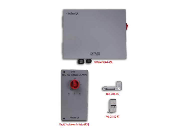FLEXware ICS Plus Combiner Box with Rapid Shutdown