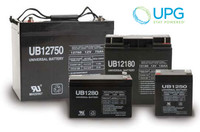 Universal Power 12V 75Ah AGM Battery