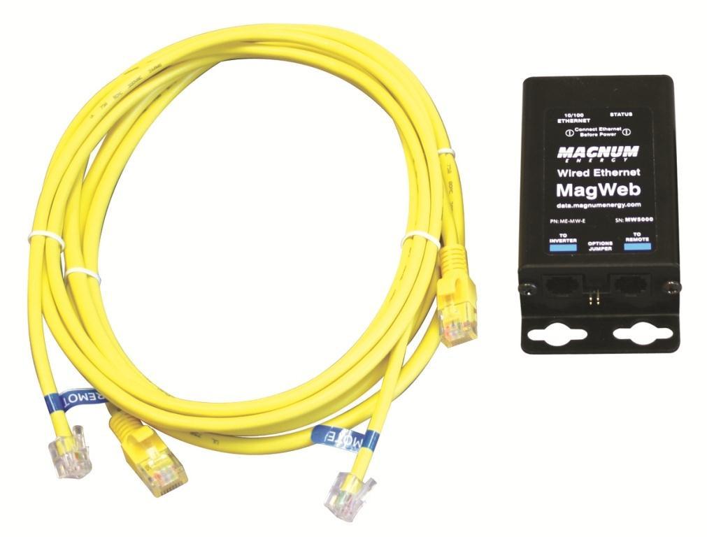 Magnum MagWeb Ethernet Monitoring Kit