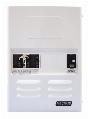 Mini Magnum Panel w/ 175ADC  & 30A Dual AC Breakers