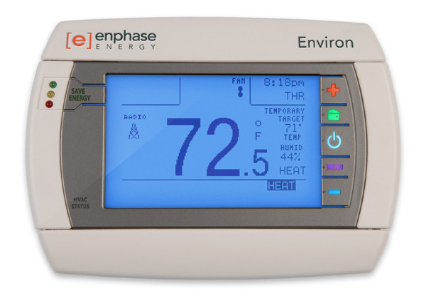 Enphase Environ Smart Thermostat with ZigBee Interface