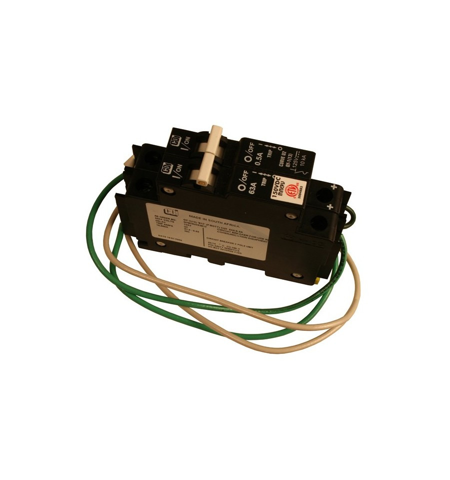 MidNite Solar 63A 150 VDC Ground Fault Circuit Breaker