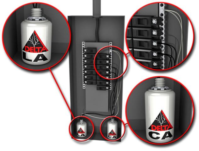 Delta LA602DC Surge Protector