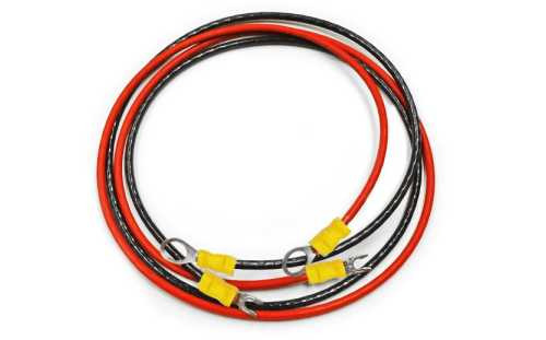 "#10-1X36""R-B Controller to Battery Cable"