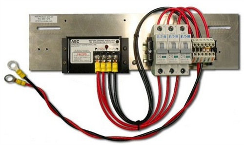 Prewired Backplate with ASC12/8 Controller