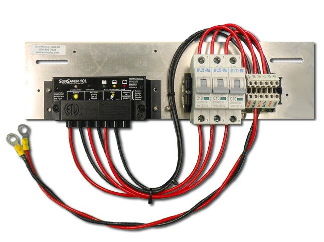 Prewired Backplate with SL-10L-24V Controller