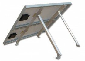 Adjustable Tilt Roof Mount Kit for 2 Panels