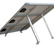 Adjustable Tilt Roof Mount Kit for 3 Panels