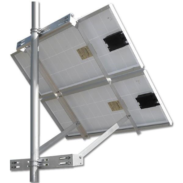 Adjustable Side of Pole Mount Kit for 2 Panels