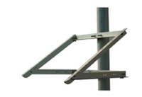 SolarTech RAC-MC120S-4 Top of Pole Mount