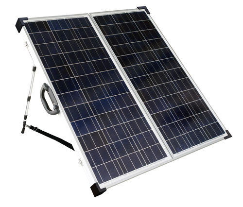 SolarLand SLP120F-12SUSB Portable Battery Charging Kit