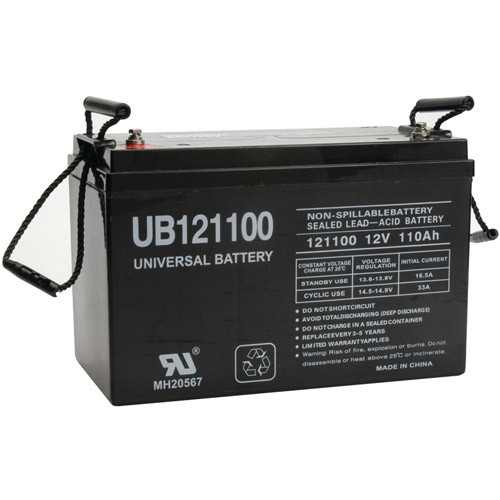 UPG Battery Bank (12VDC, 220Ah)