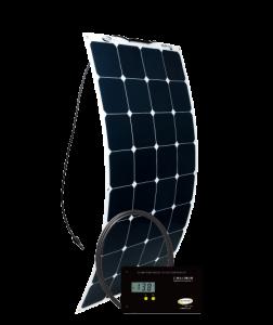 GO POWER! 100W Solar Flex Kit w/ 30A Digital Controller