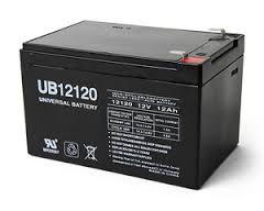 Universal Power UB12120 12V 12Ah AGM Battery
