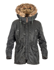 Women's Winter Fur Hood Jacket