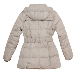 Swagger Tan Puff Jacket