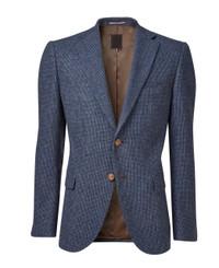 Mens Blue Blazer Jacket