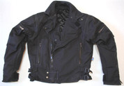"Rukka Gore-Tex Motorcycle Jacket In Black- Euro 44 - UK 38"" Chest"
