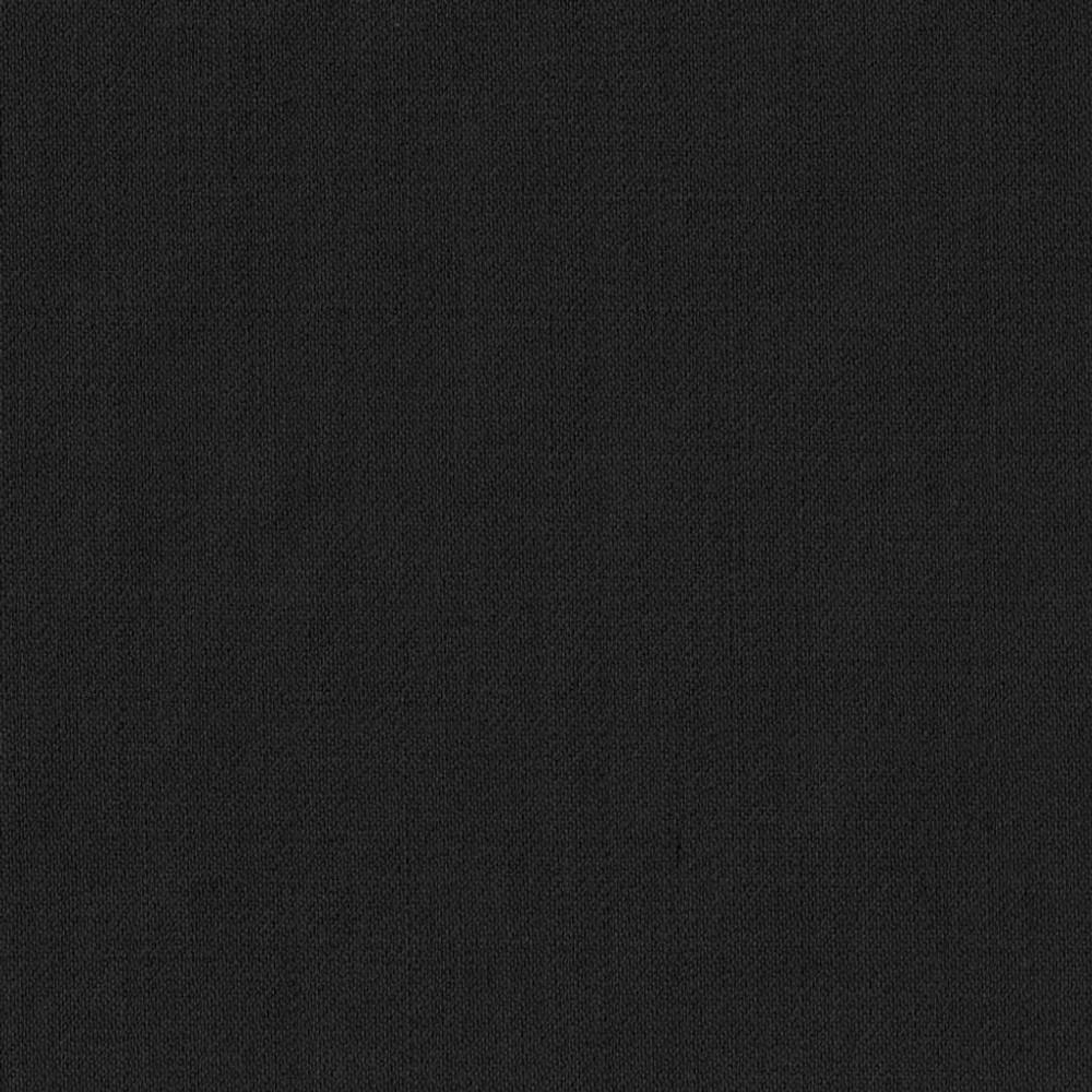 'Bennett' Double Reverse Pleat Luxury 120's Wool Serge Pant in Black by Zanella